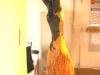 Tanzende Frau, afrikanischer Grenadill -1