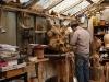 Bildhauer Engel im Atelier