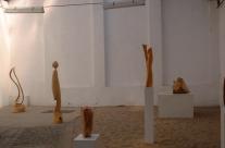 Ein kleiner Ausschnitt aus der Ausstellung von Skulpturen in der Galerie Treibhaus zu Dresden.