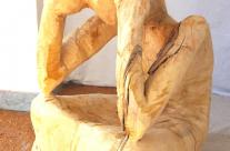 Modell aus Kastanien Holz, Gartenbauamt Hamburg