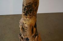 Skulptur zu den äusseren Umständen des Künstlers
